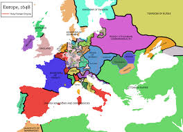 Interactive Map Of Europe by Map Of Europe In 1648 Showing Transylvania And The Two Romanian
