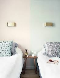 couleur de la chambre nos astuces en photos pour peindre une pièce en deux couleurs