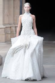 alexander mcqueen u0027s white fall 2011 finale gowns u2014 a preview of