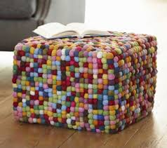 Funky Ottoman Houzz Cube Ottomans Sit Squarely In Style Burgos Design