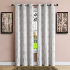 Insulated Curtains Warm Home Designs 100 Blackout Ivory Insulated Curtains In 4