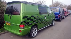 green volkswagen van wilkins motors engineers newhaven east sussex vw van camper