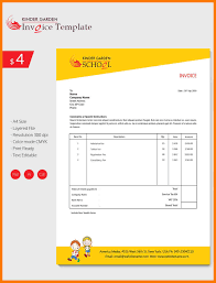 10 invoice template download park attendant
