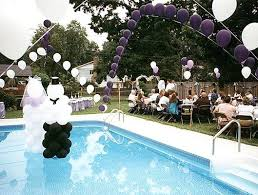 Pool Patio Decorating Ideas by Pool Patio Furniture Ideas Swimming Pool Wedding Decorations Ideas