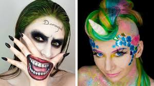 halloween makeup tutorial horror compilation by cake diy makeup