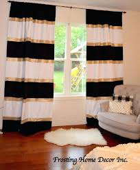 White And Navy Striped Curtains Cabana Curtains Awesome White And Navy Striped Curtains Decorating