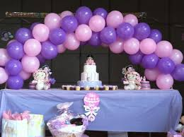 purple baby shower decorations baby showers balloons ideas balloon decoration for baby shower