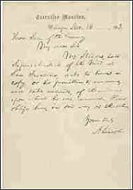 national archives gets lost lincoln letter npr