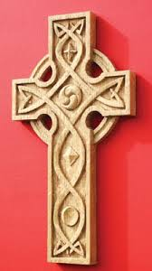 wooden celtic cross carve and fume a celtic cross the woodworkers institute celtic