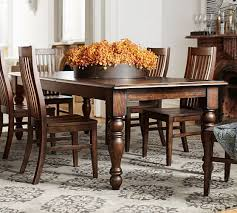 Evelyn Extending Rectangular Dining Table Pottery Barn - Pottery barn dining room set
