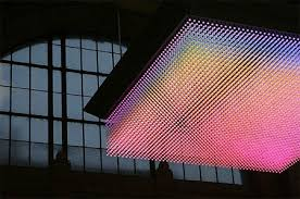 3d led display puts on a 25fps light show techeblog