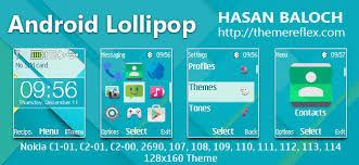 theme maker nokia 2690 android lollipop theme for nokia c1 01 c1 02 c2 00 107 108 109