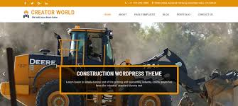 10 best free wordpress themes for industrial business 2017