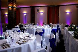 chair covers and sashes chair covers and purple satin sashes at berkhamsted town