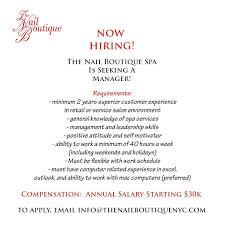 brooklyn u0027s trendy nail salon is now hiring tha l spot ent