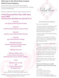 bridal shower registries photo bridal shower registry wording image