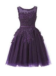purple tulle purple prom dress tulle prom dress applique