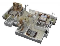 3 bedroom home design plans 3 bedroom house plans 3d design 7