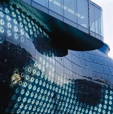 Kunsthaus Graz Bix Light And Media Façade At Moma Archdaily