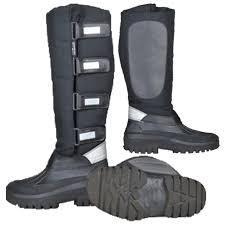 s yard boots uk hkm black winter yard stable wellies mucker