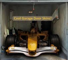 cool garage doors the coolest garage door skins totally home improvement