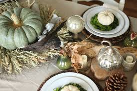 how to set a traditional thanksgiving table setting