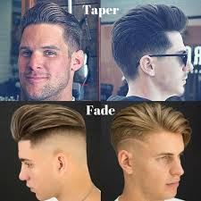 difference between tapered and straight haircut taper vs fade the difference between fade and taper haircuts