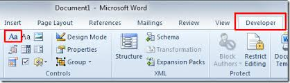 design form in word create user entry forms in word 2010