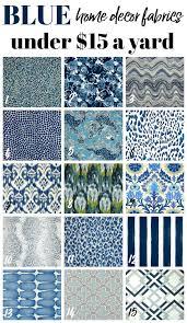 Blue Home Decor Cheap Home Decor Fabric By The Yard