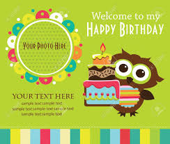 free birthday invitation card cool kids birthday card invitations 55 about remodel free download