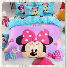 Minnie Mouse Twin Comforter Sets Kids And Teens Queen Size Bedding Sets Ebay