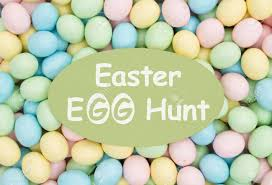 easter egg hunt eggs invitation to an easter egg hunt retro easter eggs candy with