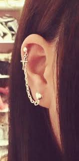 earrings with chain ear cartilage best 20 chain earrings ideas on no signup required
