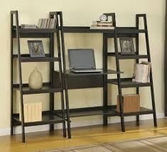 Leaning Bookcases Leaning Shelf Desk Decorative Desk Decoration