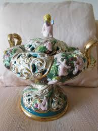Capodimonte Vases Antique Finding The Classic And Artful Capodimonte Vase Decor On The Line