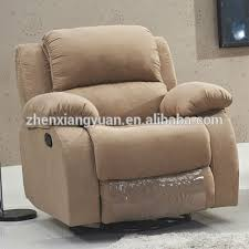 foshan leather or pu good price modern recliner sofa manual or