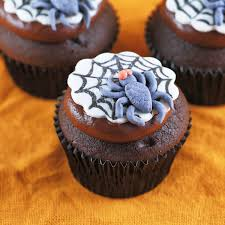 chocolate halloween cakes fun spooky spider web halloween cupcakes recipe jessica gavin