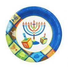 hanukkah plates chanukah and hanukkah paper goods and hanukkah disposable dishes