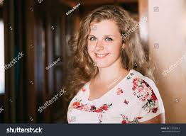 portrait young beautiful plus size caucasian stock photo 515929963