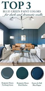 top 3 blue green paint colors for dark and dramatic walls cc and