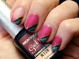 gel ii reaction gel polish the trendy nail