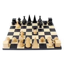 bauhaus chess set description the key to winning on this chess set