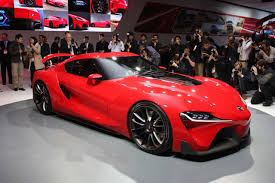 toyota supra side view official toyota ft 1 concept first new supra prototype spotted