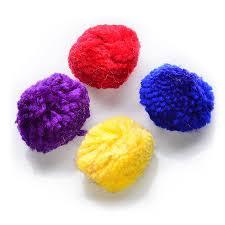 pomeranian x bichon frise sale spot wool pom poms with catnip 4 pk cat toys petcarerx
