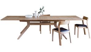 Extended Dining Room Tables by Case Matthew Hilton Cross Extending Dining Table