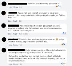 nz doctor disgusted by m sian air stewardesses uniforms netizens