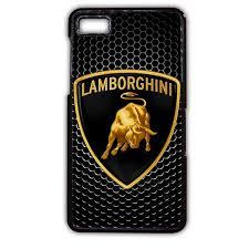 car lamborghini logo lamborghini logo metal carbon blackberry phonecase for blackberry