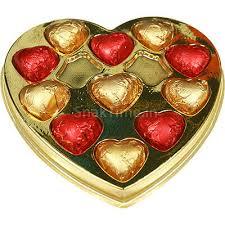 chocolate heart box buy blasta sweet heart milk chocolate gift box heart 120 gm online