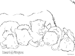 100 anime wolf pup coloring pages nickelodeon coloring