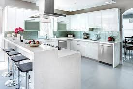 white contemporary kitchen cabinets gloss advantages of high gloss kitchen cabinets